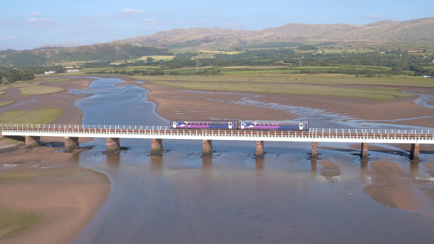 Tourism-based promotional video - Community Rail, Cumbria