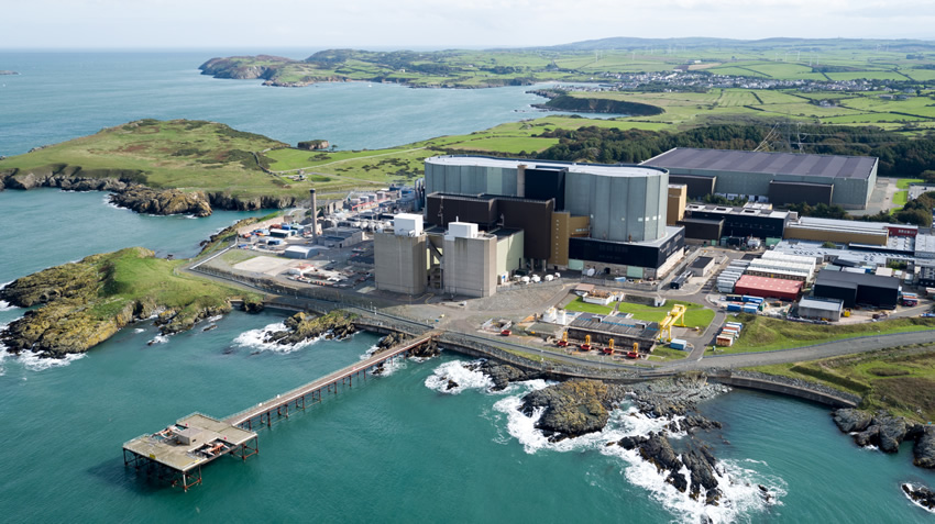 Aerial filming of UK nuclear licensed sites - Nuclear Decommissioning Authority (NDA)