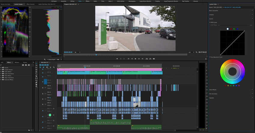 Post-Production Video Editing